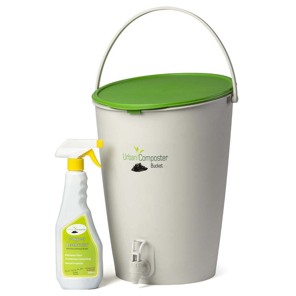 urban composter and compost accelerator