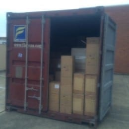 UC container for Sweden May 2016